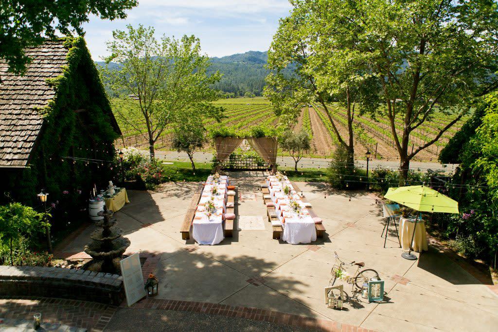 Napa Wedding Venues | Vineyard Wedding Venues, Resorts & Gardens