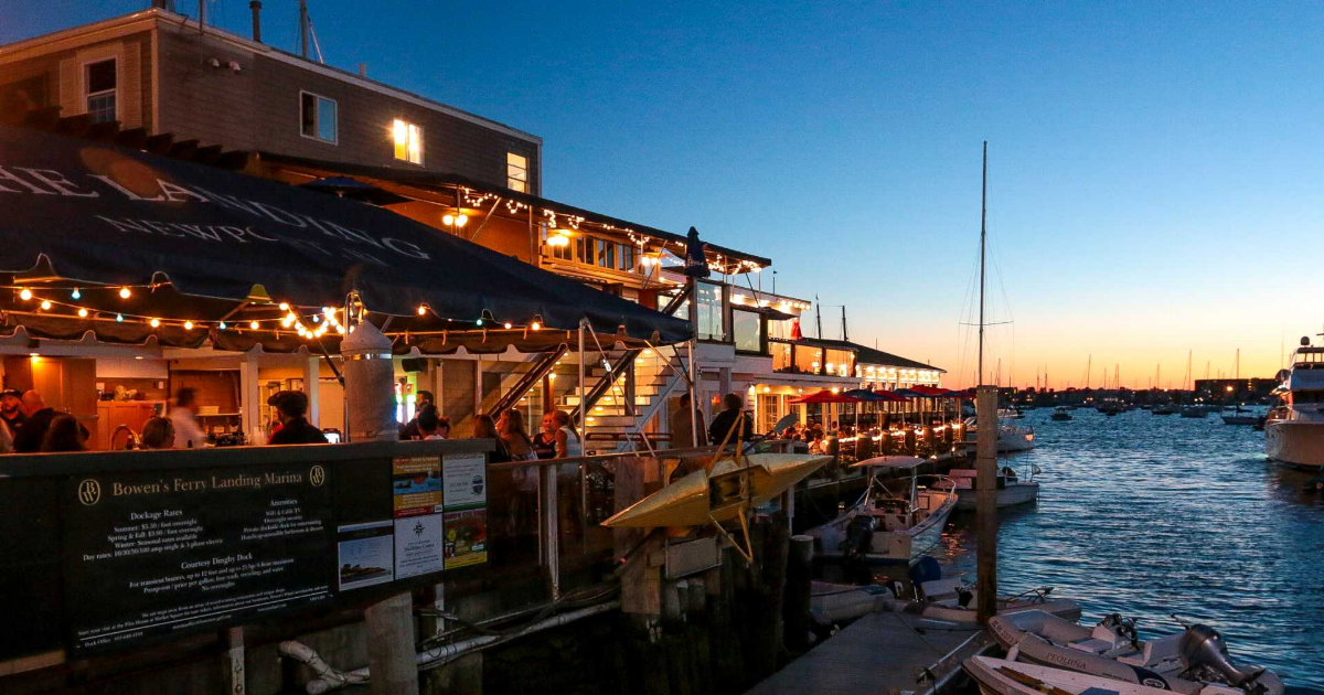Waterfront Restaurants In Newport Dock To Table Dining