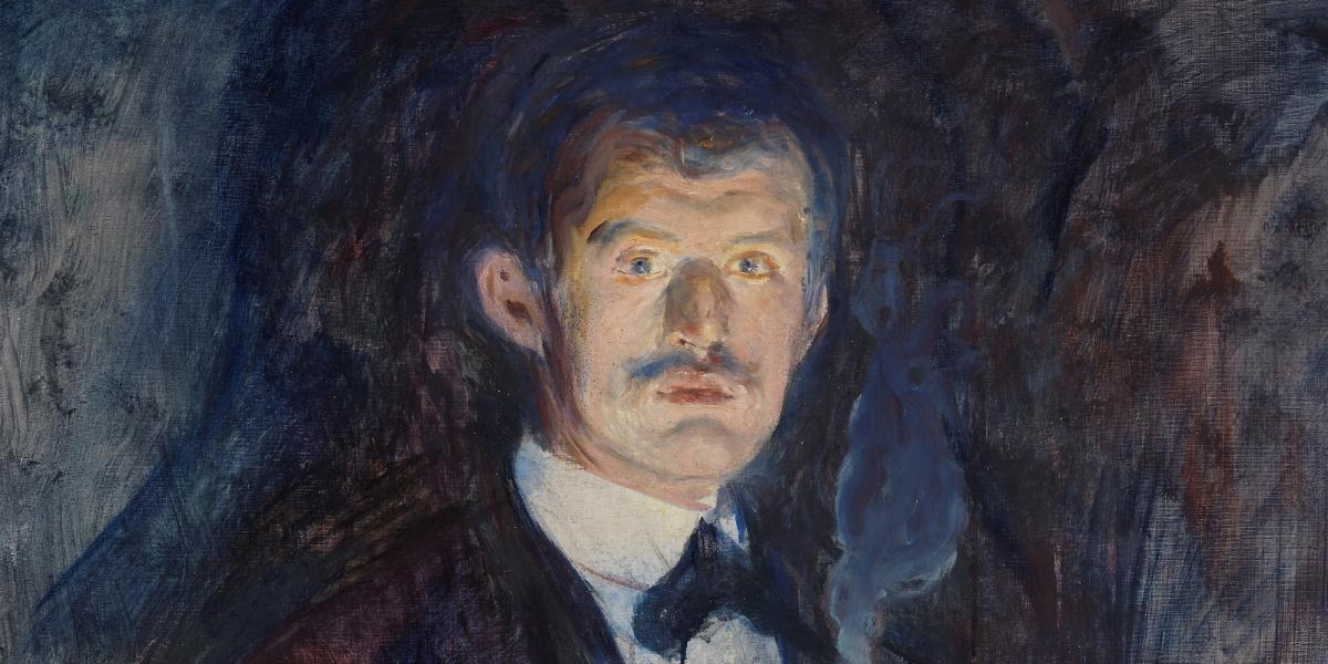 The world-famous painter Edvard Munch