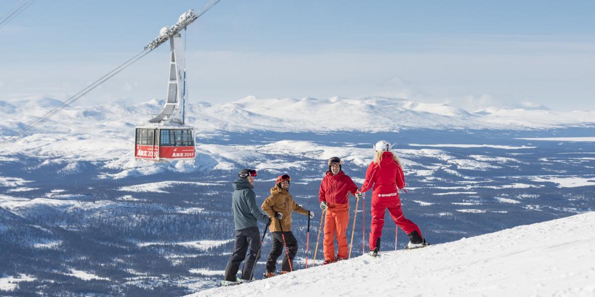 Горнолыжный отдых в Оре   Крупнейший горнолыжный курорт Швеции 0c343a44904