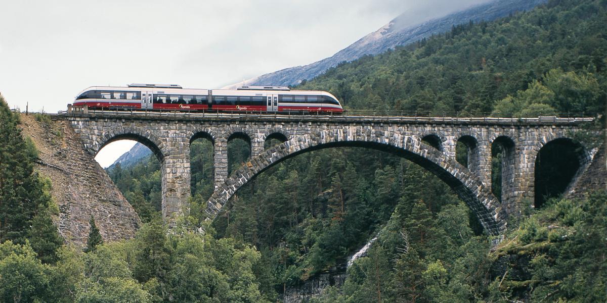 åka tåg till norge