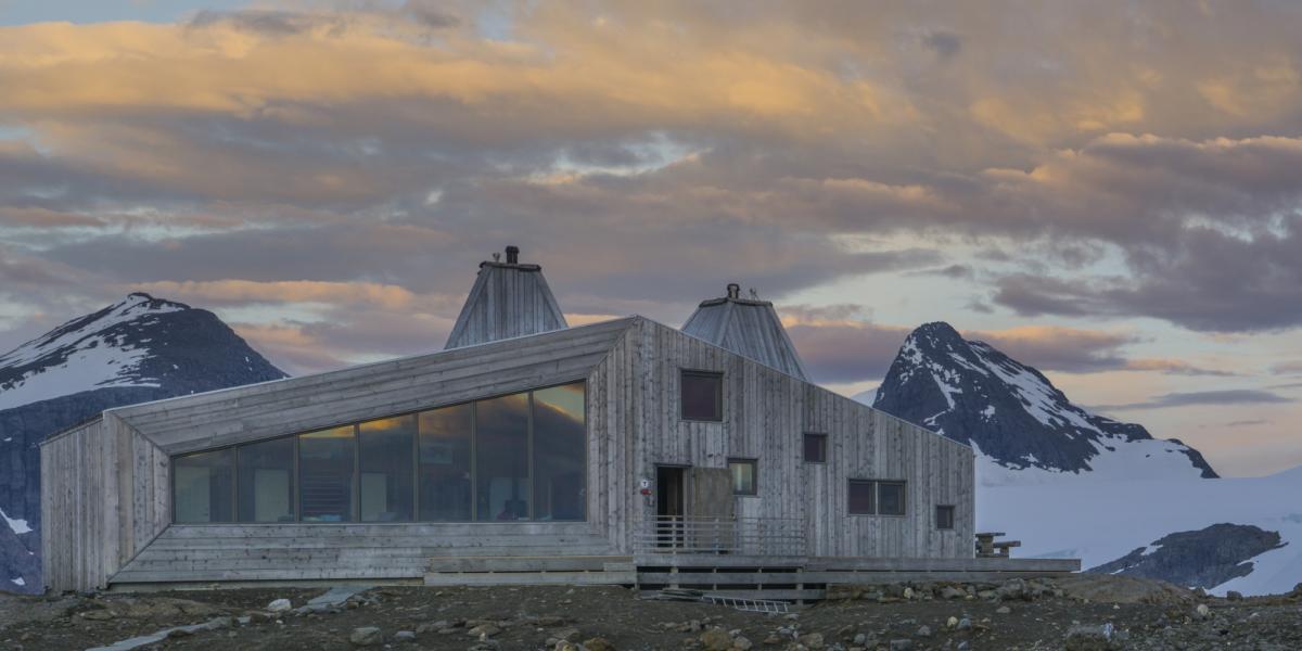 Norwegische Architektur Historisch Und Modern