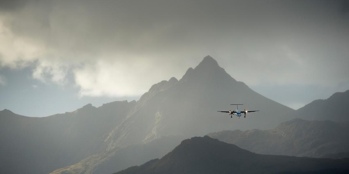Sadan Kommer Du Rundt Med Fly Flyrejser I Norge