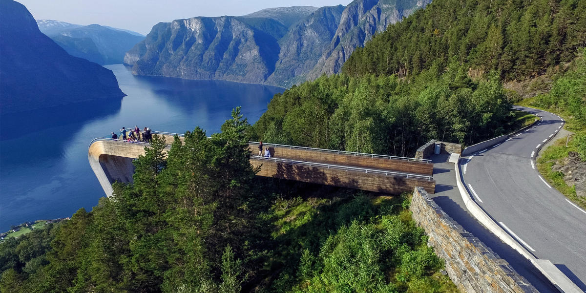 Karta Norge Stavanger.Norwegian Scenic Routes National Tourist Routes Best Drives In