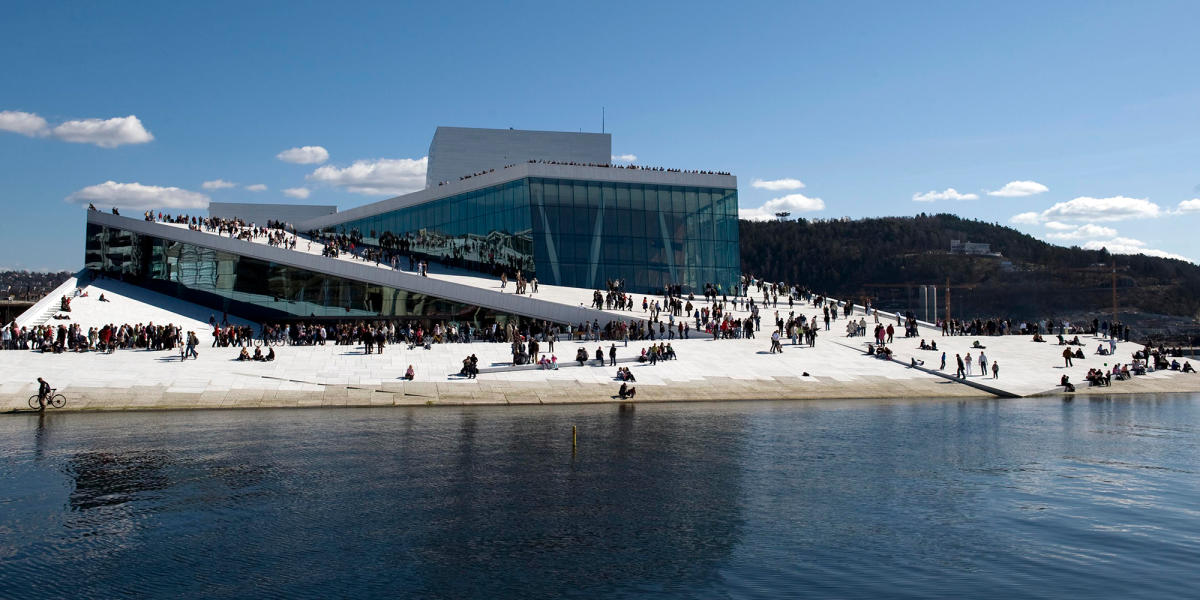 Oslo Opera House: please walk on the roof Visit Norway