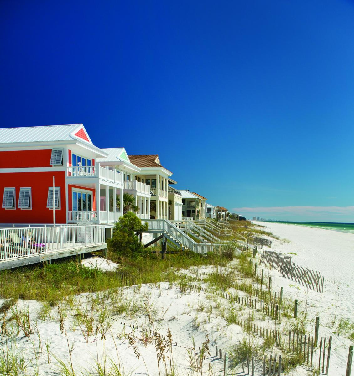 Beach Houses  Townhome Rentals  Panama City Beach FL