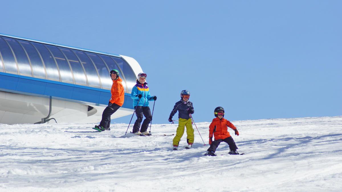 poconos ski season is back!