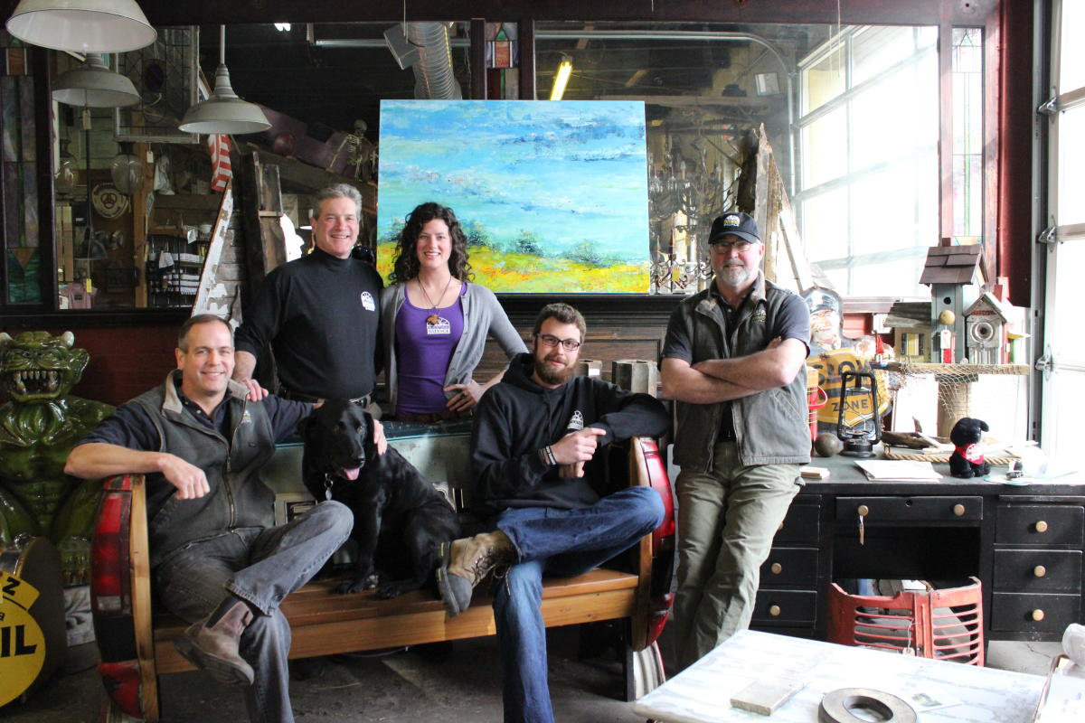 black dog salvage crew