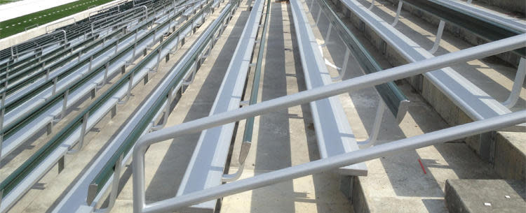 Southern Bleacher Inc Benches For Concrete Stadiums