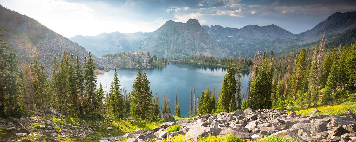 Pearl Lake State Park Colorado Near Steamboat Springs