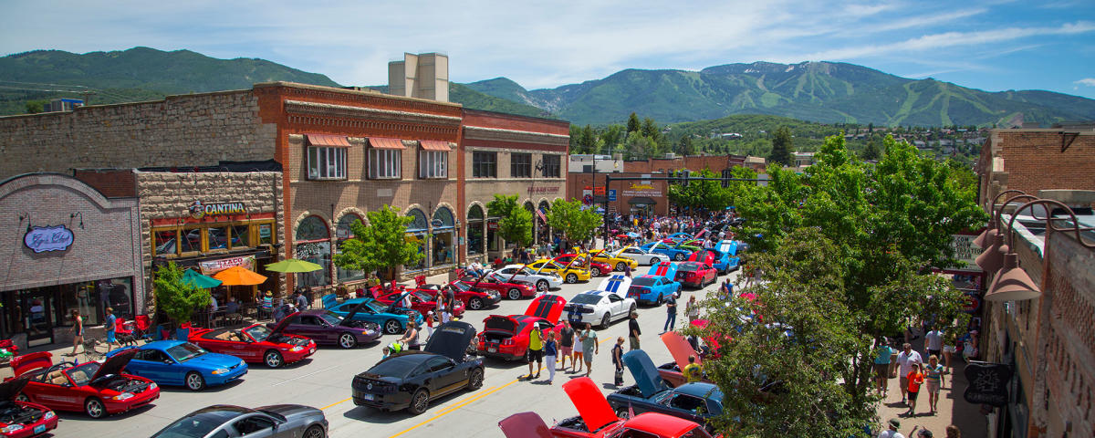 Rocky Mountain Mustang Car Roundup Steamboat Springs
