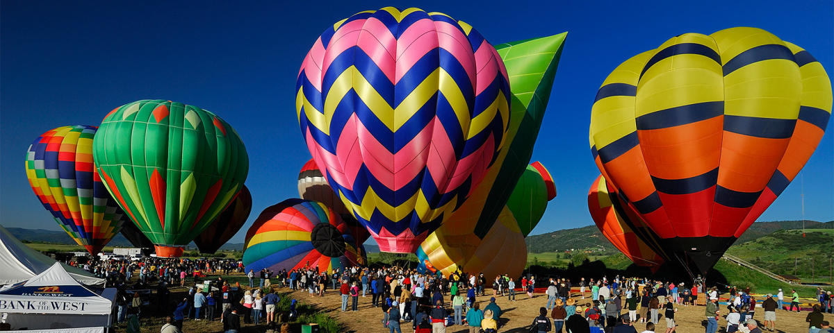 Steamboat Springs Colorado Hot Air Balloon Rodeo July 13 14 2019 38th Annual