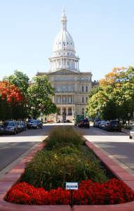 State Capitol Building, Fall  Color