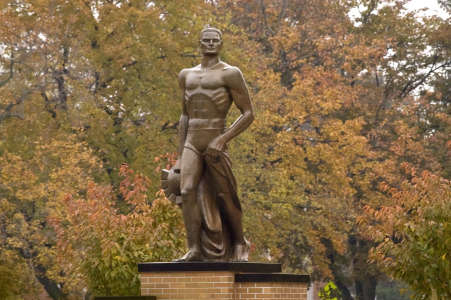 Sparty in the Fall