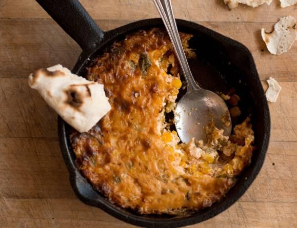 Recipe Green Chile Cast Iron Corn Casserole
