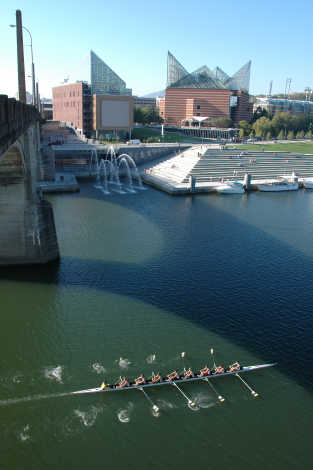 Rowing on the Riverfront