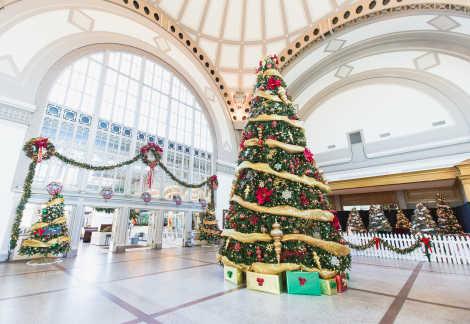 Holiday Trail of Lights_Chattanooga Choo Choo Holiday Decor