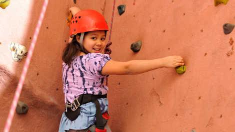 Rock Climber_Spring Break Safari