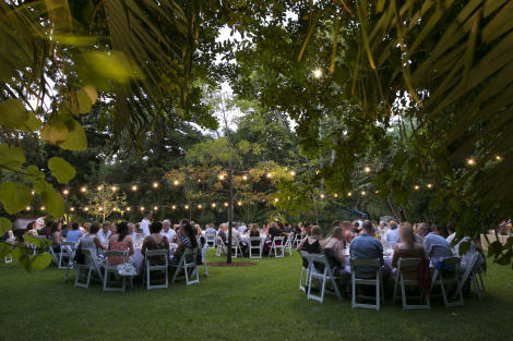 Outdoor Gala Dinner, Perth Zoo