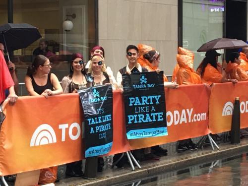 Visit Tampa Bay Pirates Invade New York