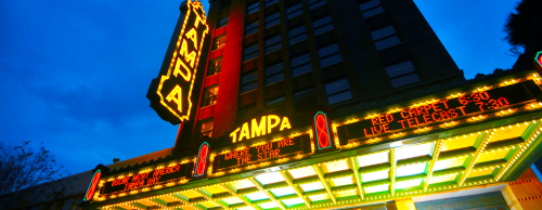 Hollywood infiltrates Tampa Bay on July 6