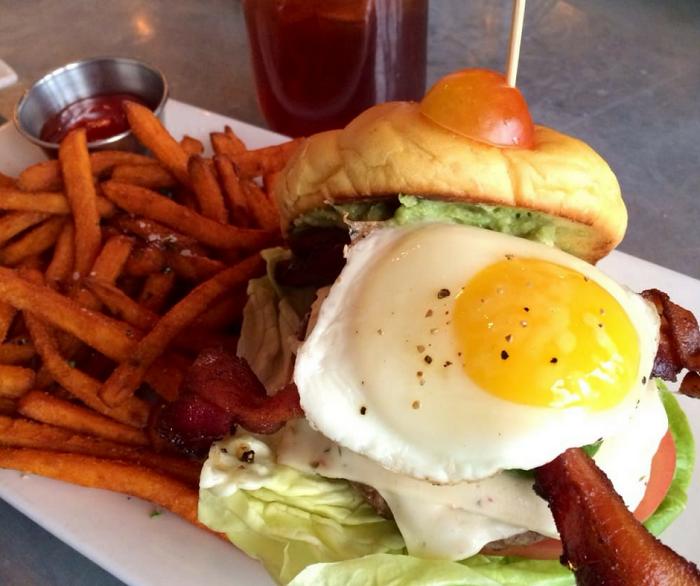 The Pancho Burger from Guru Burgers & Crepes