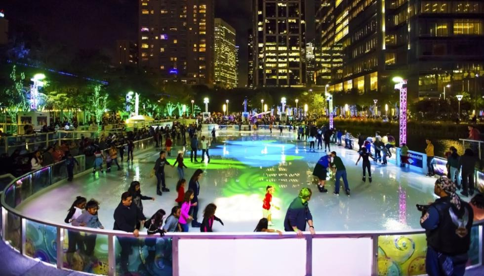 Discovery Green Ice Skating