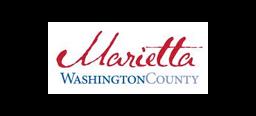 Marietta, Washington County Convention & Visitors Bureau Logo
