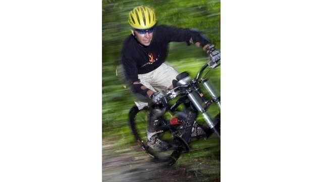 Mountain Biking At Ski Plattekill 36