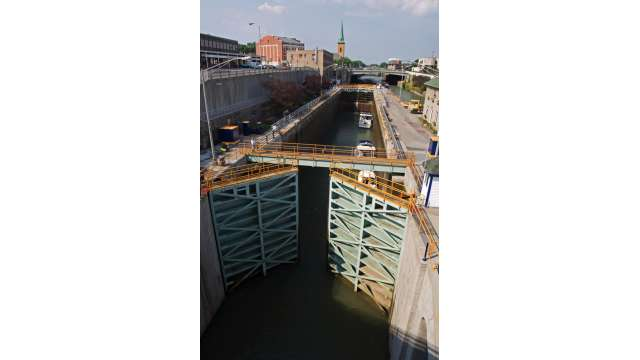 Lock 34 and 35 in Lockport
