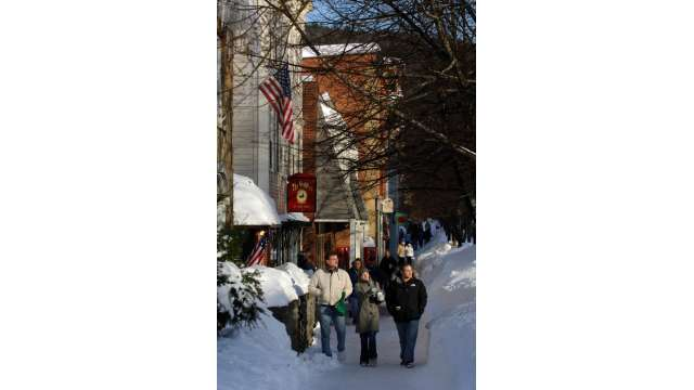 Cooperstown in Winter
