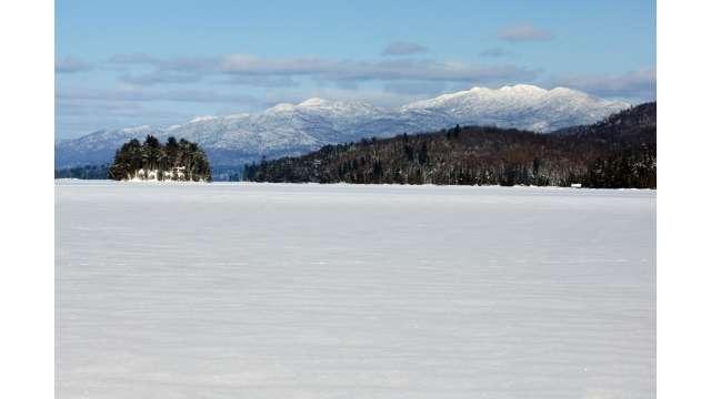 Long Lake in Winter