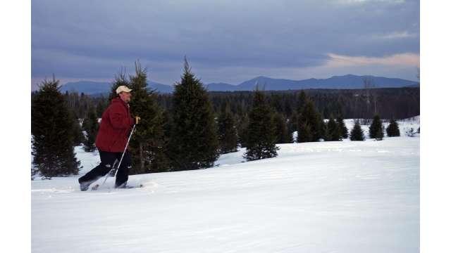 Snowshoeing- Adirondacks near Saranac Lake 102