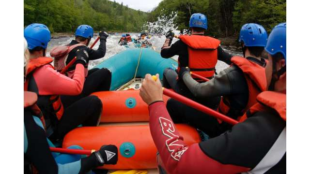 Rafting the Hudson River Gorge w/ Hudson River Rafting Company