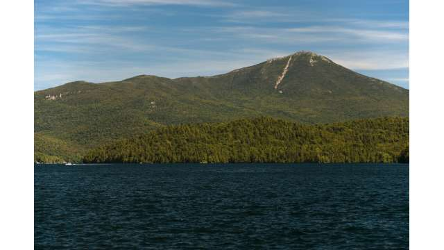 Whiteface Mountain from Lake Placid