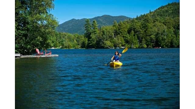 Kayaking on Mirror Lake