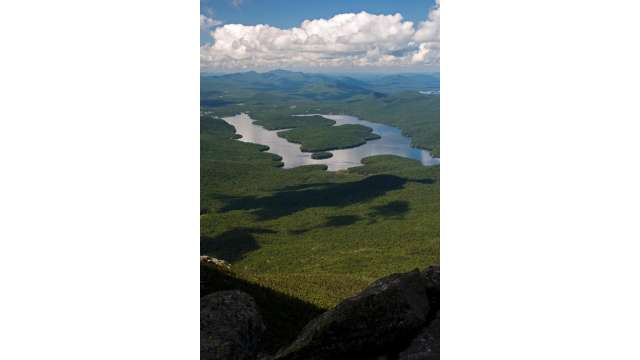 View of Lake Placid from Whiteface Mountain 195