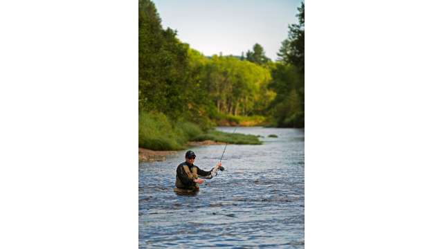 Fly Fishing West Branch of Ausable River