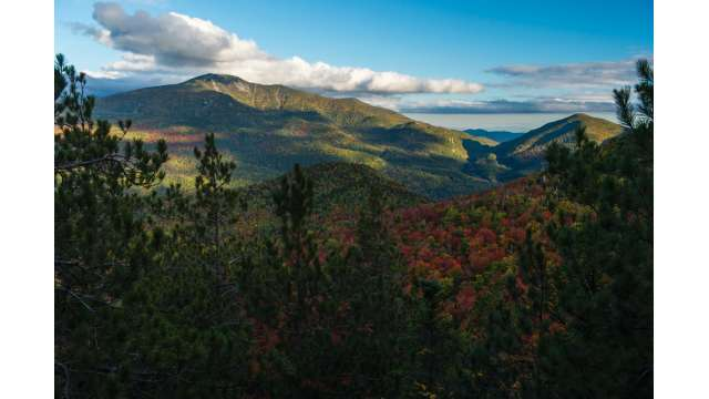 View of Giant Mountain from Rooster Comb in Keene 240