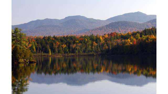 Ossetah Lake in the Adirondacks