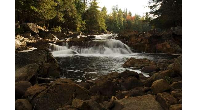 Cascade along Boreas River