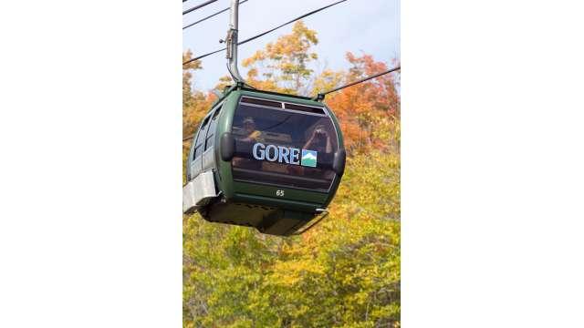 Fall festival at Gore Mountain. Gondola Ride 299