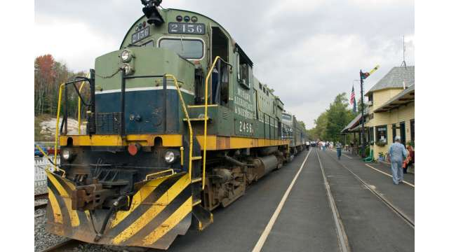 Adirondack Scenic Railroad in Thendara