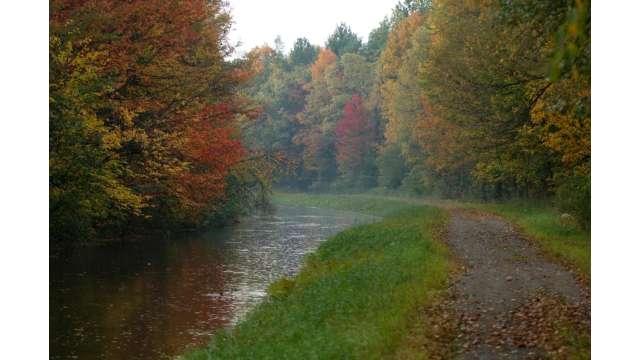 Canal on western edge of Adirondack Park