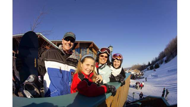 Skiing - Ski Lodge 361