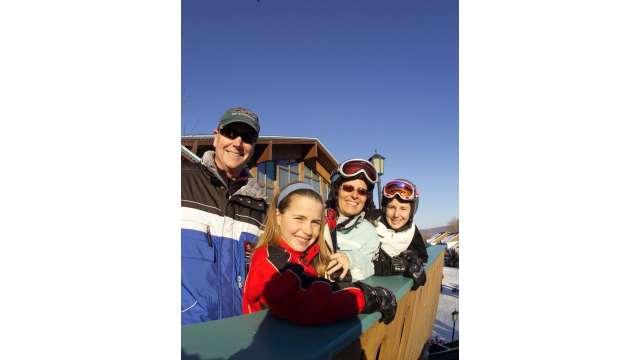 Skiing - Ski Lodge