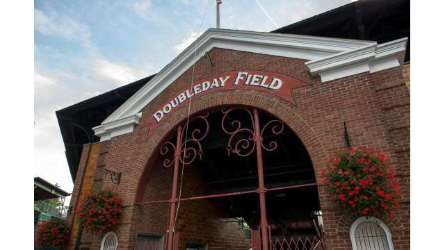 Doubleday Field in Cooperstown