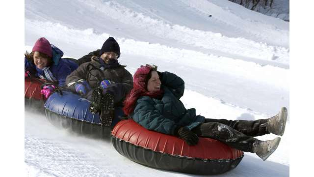 Snow Tubing-Hunter Mountain