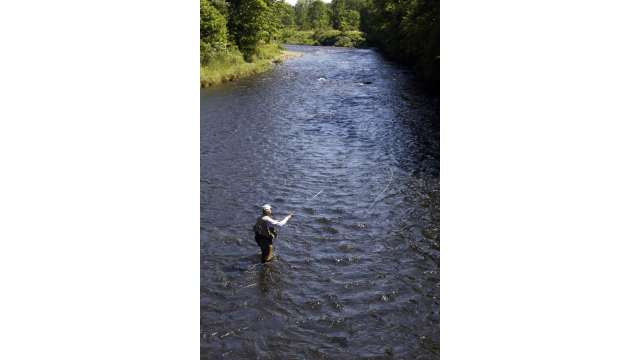 Fly Fishing at Catskill Fly Fishing Center and Museum