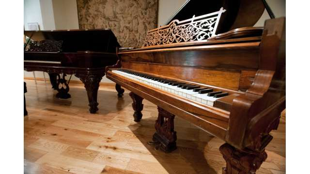 Pleshakov Piano Museum at the Doctorow Center for the Arts. Part of Catskill Mountain Foundation.